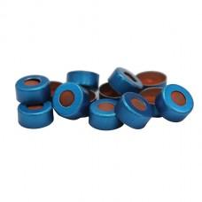 11 mm Blue Crimp Cap & Standard Seal (100/pk)