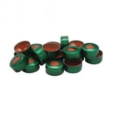 11 mm Green Crimp Cap and Standard Seal (100/pk)