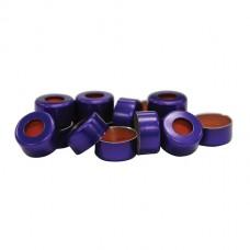 11 mm Purple Crimp Cap & Standard Seal (100/pk)